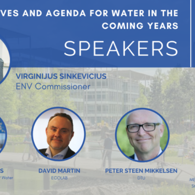 EU Commissioner for Environment joins the upcoming MEP Water Group Event, 24 February