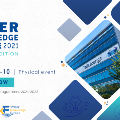 Water Knowledge Europe 2021 Autumn Edition event is coming back in Brussels!